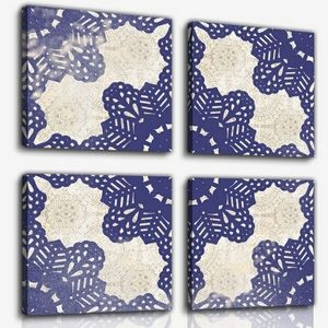 Canvas Wall Print Set of 4